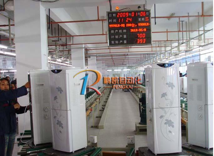 饮水机组装装配线